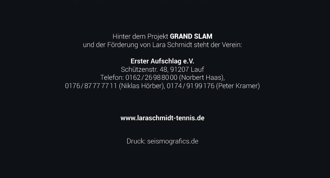 Hinter dem Projekt Grand Slam